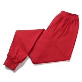 男士秋裤单件棉毛裤加大保暖宽松打底裤薄款不加绒