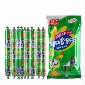 玉米味香肠3袋共810g火腿肠方便面搭档零食