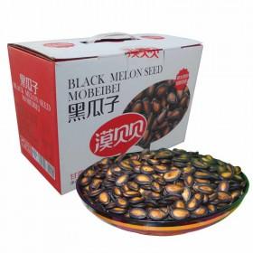 漠贝贝甘草味黑瓜子180克X12袋(4.32斤)