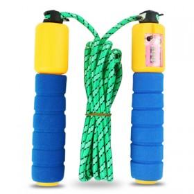 计数计算器跳绳海绵儿童成人户外运动健身比赛专用器材