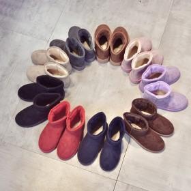 2018雪地靴女冬季防滑短靴女加厚保暖学生棉鞋