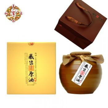 绍兴黄酒十五年陈花雕1.68L坛装礼盒