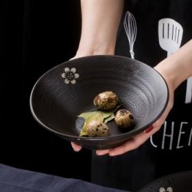 粗陶特色米饭碗6.5英寸