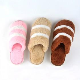 情侣棉拖鞋冬季家居室内保暖厚底防滑居家可爱家用