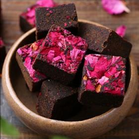 新年特惠500g黑糖四物古法黑糖 红糖块玫瑰姜茶