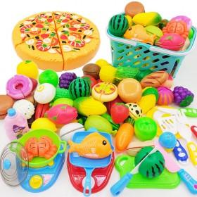儿童切水果玩具切切乐宝宝贝过家家仿真小男女孩切蔬菜