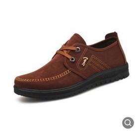 冬季男棉鞋中老年爸爸鞋保暖休闲加厚防滑老北京布鞋