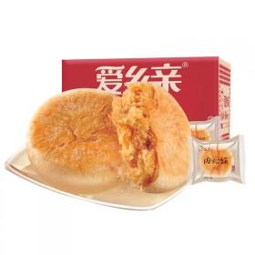 厂家直发 爱乡亲肉松饼1000g 一箱净重2斤
