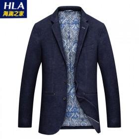 海澜之家西装小西服修身单西外套夹克