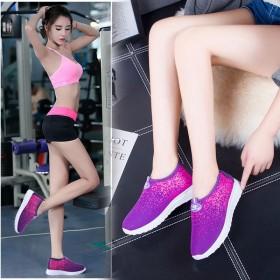 老北京布鞋一脚蹬休闲透气女单鞋防滑保暖加绒棉鞋