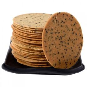 750克一斤半装铁棍山药芝麻饼干薄脆瓦片年年宏休闲