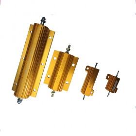 RX24大功率黃金鋁殼電阻器汽車解碼電阻放電電阻