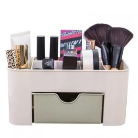 新款创意抽屉式化妆盒桌面卧室护肤品简约收纳盒