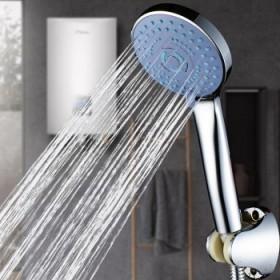 三档增压手持沐浴花洒喷头浴室家用镜面喷头