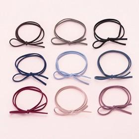 韩国头绳橡皮筋发圈网红小清新发绳百搭可做手链10根