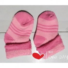 4双双面毛圈宝宝袜保暖不勾脚柔软单口提花鲜艳松口适