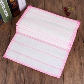 木纤维洗碗布 五层加棉洗碗巾 不沾油抹布厨房清洁布