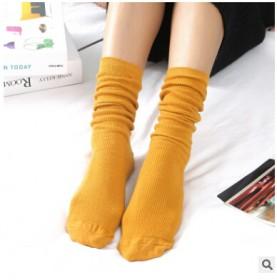 堆堆袜 女 日系秋冬棉薄款女袜