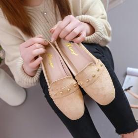 高跟鞋粗跟女2019新款鞋子韩版春季黑色工作鞋