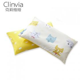 纯棉儿童枕头30×50cm(枕芯+枕套)