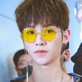 嘻哈眼镜  复古墨镜 新款潮流太阳镜 男女时尚眼镜