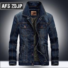 AFS ZDJP牛仔男士夹克外套男装休闲夹克上衣潮