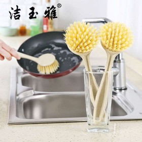 两个装锅刷洗锅神器洗锅刷不伤锅不沾油带手柄