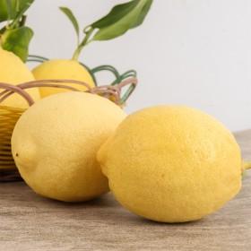 【7个柠檬】潼南新鲜黄柠檬产地直供单果90-110
