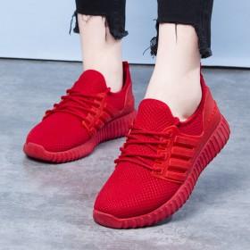 韩版百搭休闲鞋跑步运动鞋平底轻便舒适男女老北京布鞋