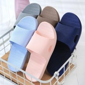浴室拖鞋夏季女室内洗澡防滑漏水男女凉拖鞋家居塑料软