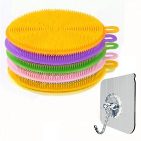 一辈子没用过的洗碗刷多功能硅胶洗碗刷碗碟擦蔬洗锅刷