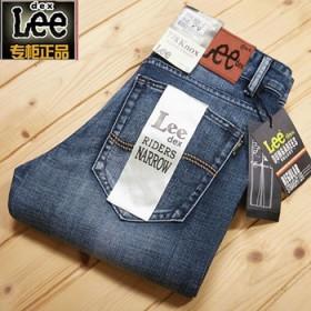 Lee男士夏季牛仔裤