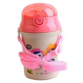宝露露婴儿学饮杯儿童水杯宝宝喝水杯婴幼儿吸管杯带挂