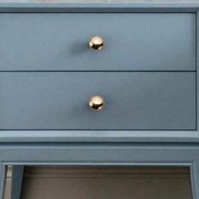 柜门拉手抽屉金色美式现代简约橱柜子衣柜门把手北欧式