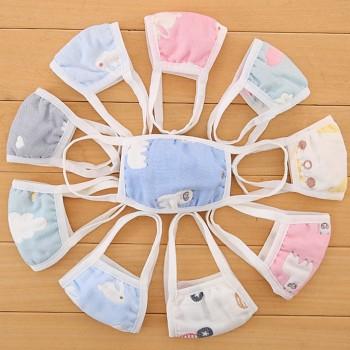 婴儿口罩小孩男女童宝宝婴幼儿口罩儿童秋冬纯棉透气