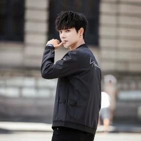 开春外套男2019春季新款韩版修身棒球服男装夹克
