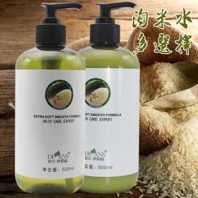 淘米水丝滑洗发水控油清爽去屑滋润头皮柔顺深层清洁洗
