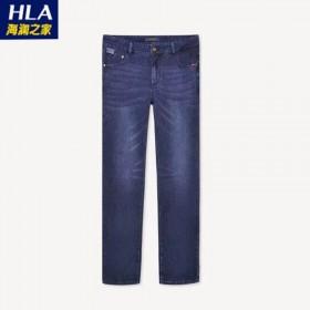 海澜之家微弹牛仔裤长裤子