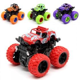 惯性四驱越野车儿童男孩模型抗耐摔玩具
