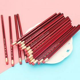30支铅笔套装 HB铅笔学生写作六角红木铅笔儿童