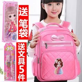 女童女生幼儿园儿童书包女小学生书包女孩韩版