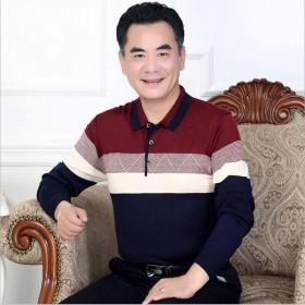 2019新款爸爸装长袖T恤
