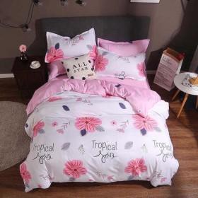 ins风网红四件套宿舍三件套被套床单床上用品