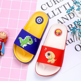 儿童夏季男童女童卡通拖鞋防滑耐磨软底一字拖