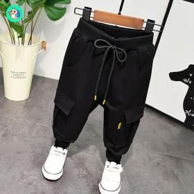 童裤男童运动裤春秋小童裤子潮儿童休闲裤男春季201
