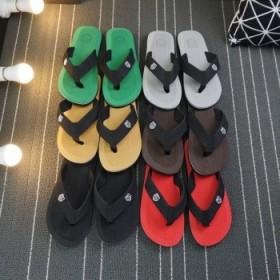 小贝同款时尚防滑底沙滩男士人字凉鞋拖鞋