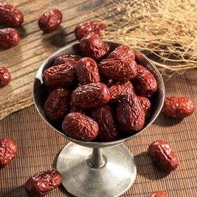 良缘珍品新疆红枣500g 1袋新疆特产特级和田大枣