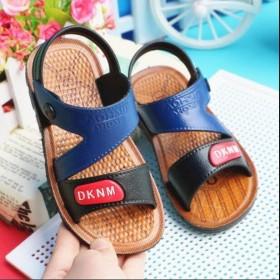夏季小学生中童小童小孩防滑宝宝儿童沙滩鞋