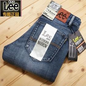 lee夏季牛仔裤