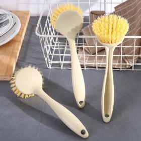 5个 去污长柄洗锅刷厨房用品